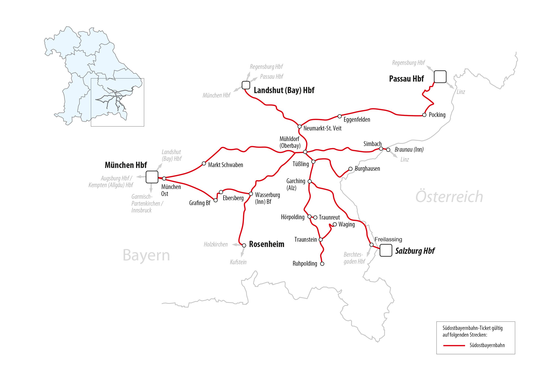 Südostbayern Ticket Bahnland Bayern