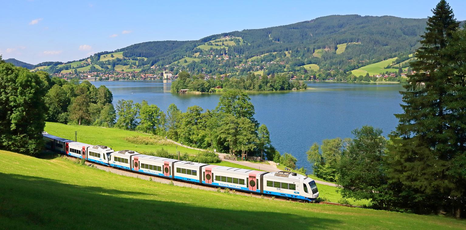 Bayerische Oberlandbahn Kombitickets Bahnland Bayern