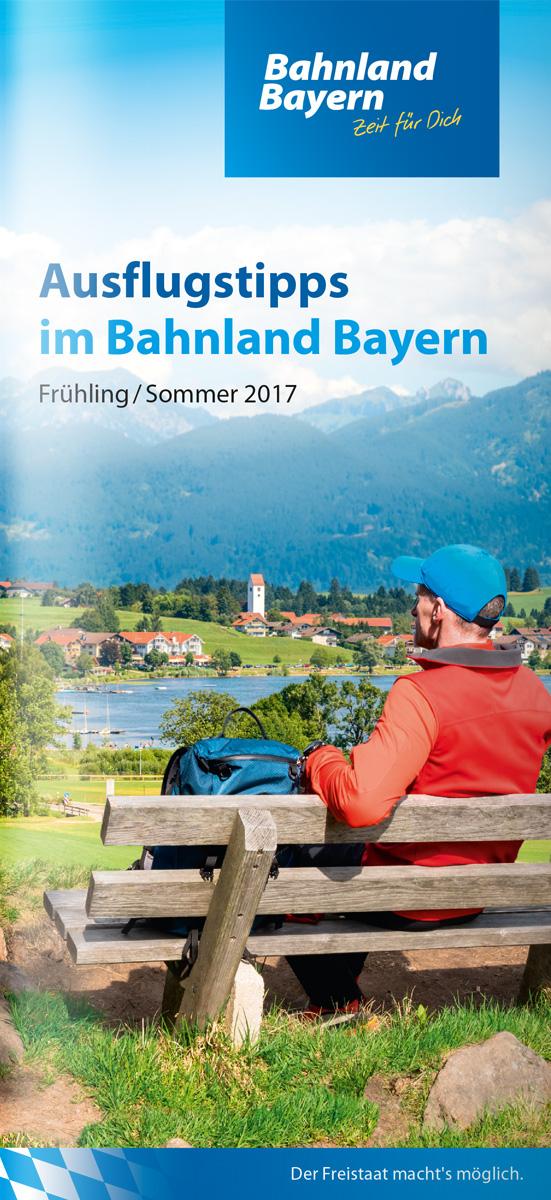 übersicht Bahnland Bayern